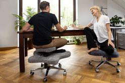 Krzesło biurowe na kręgosłup